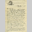 Letter from a camp teacher to her family (ddr-densho-171-56)