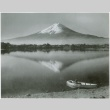 Lake after a typhoon with mountain in the background (ddr-densho-299-224)