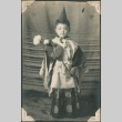 Young boy in traditional costume (ddr-densho-321-31)
