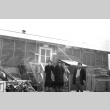 The Suzuki family in front of their barracks room at Minidoka concentration camp, Idaho (ddr-densho-243-6)