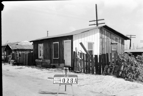 Building labeled East San Pedro tract 028A (ddr-csujad-43-177)