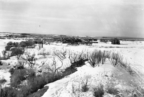 Machinery and heavy equipment in snow (ddr-fom-1-644)