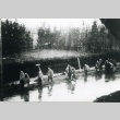 Prisoners on the death march from Dachau concentration camp (ddr-densho-22-115)