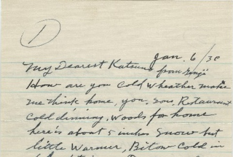 Letter from Issei man to wife (January 6, 1942) (ddr-densho-140-43)