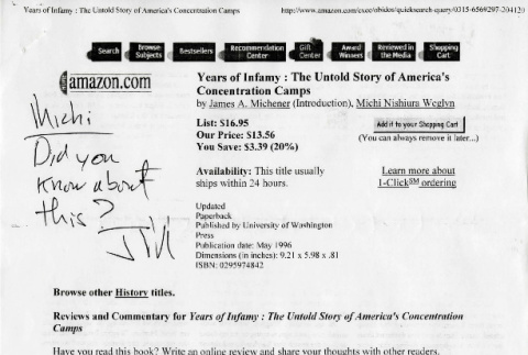 Years of infamy: the untold story of America's concentration camps (ddr-csujad-24-125)