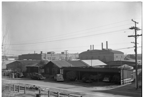 Houses and buildings on Terminal Island (ddr-csujad-43-25)