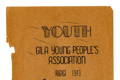 Youth, no. 3 (August 1943) (ddr-csujad-42-178)