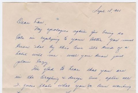 Letter to Kan Domoto from an unknown sender (ddr-densho-329-487)