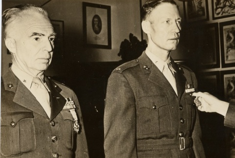 U.S. officers decorated for campaigns against Japan (ddr-njpa-1-570)