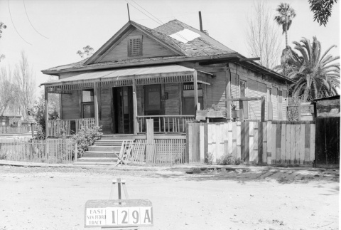 House labeled East San Pedro Tract 129A (ddr-csujad-43-150)