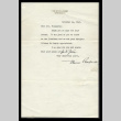 Letter from Eleanor Roosevelt to Mrs. Mary Tsukamoto, November 24, 1943 (ddr-csujad-55-35)
