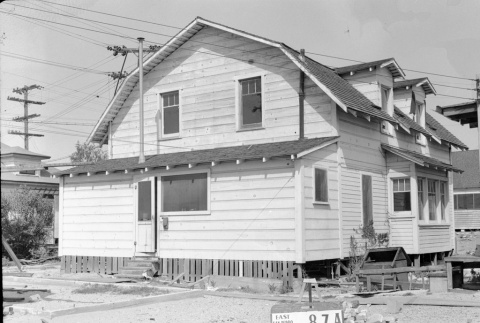 Building labeled East San Pedro Tract 87A (ddr-csujad-43-89)