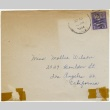 Christmas card (with envelope) to Mollie Wilson from Sako (December 23, 1944) (ddr-janm-1-54)