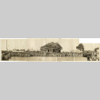 [Panoramic photo of group in front of Enmanji Buddhist Temple] (ddr-csujad-56-314)