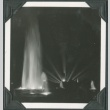 Night view of a fountain at the Golden Gate International Exposition (ddr-densho-300-175)