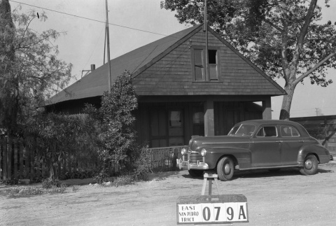 House labeled East San Pedro Tract 079A (ddr-csujad-43-163)