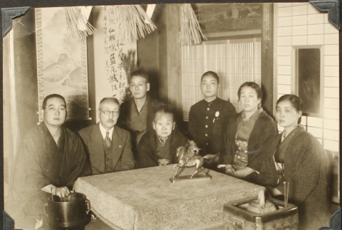 Family picture in Japan (ddr-densho-259-535)