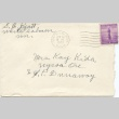 Letter from Mary Hedley to Miyuki