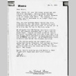 Letter from Ced [Cedrick Shimo] and Milli to Michi Weglyn, November 3, 1991 (ddr-csujad-24-85)