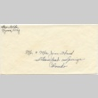 Envelope from George Kida to Mr and Mrs Jim Wood (ddr-one-3-1)