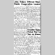 Jobs Galore Offered Nisei; Public Cooperation Lauded (August 14, 1945) (ddr-densho-56-1136)