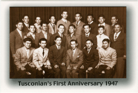 Postcard of Tusconian's First Anniversary 1947 (ddr-densho-122-591)