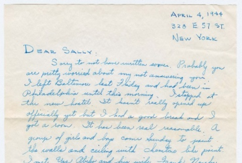 Letter to Sally Domoto from Kan Domoto (ddr-densho-329-215)