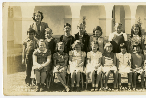Lowell School 2nd and 3rd grades (ddr-csujad-5-325)