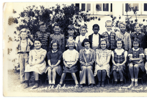 Lowell School 2nd and 3rd grades (ddr-csujad-5-326)