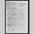 Letter from May Tsukamoto to Mr. Dallas McLaren, April 30, 1944 (ddr-csujad-55-1879)