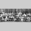 Group photograph of the Lake Sequoia Retreat campers, 1951 (ddr-densho-336-77)