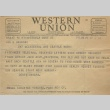 Telegram from Issei man to wife (January 23, 1942) (ddr-densho-140-49)