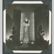 Night view of a statue at the Golden Gate International Exposition (ddr-densho-300-184)