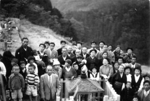 Family in Japan, ritual event (ddr-csujad-25-151)