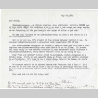 Letter from Michi Weglyn to Frank Chin, July 29, 1985 (ddr-csujad-24-40)