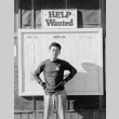 Help wanted signs (ddr-densho-93-47)