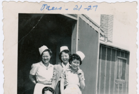 Mess Hall workers (ddr-densho-363-48)