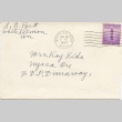 Letter from Dan and Sarah Mosier to George Kida and parents (ddr-one-3-48)
