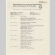 Schedule for the Public Hearing by the Commission on Wartime Relocation and Internment of Civilians (August 13, 1981) (ddr-janm-4-32)