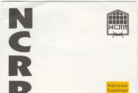 NCRR (National Coalation for Redress/Reparations) pamphlet (ddr-janm-4-39)