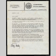 Letter from Phillip Isenberg, Member of the Assembly, 10th District, August 6, 1985 (ddr-csujad-55-2451)