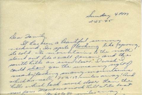 Letter from a camp teacher to her family (ddr-densho-171-68)