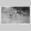 [Family group in front of house] (ddr-csujad-56-262)