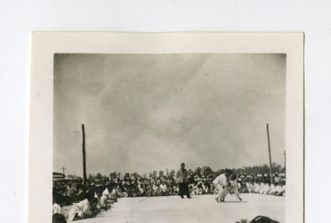 Judo in the Jerome camp (ddr-csujad-38-101)