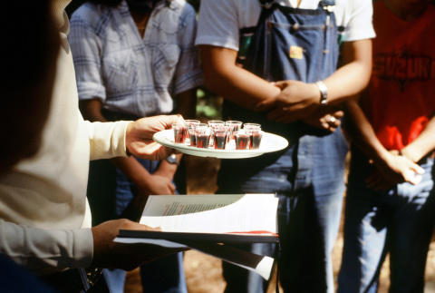 Communion on the last day of camp (ddr-densho-336-963)