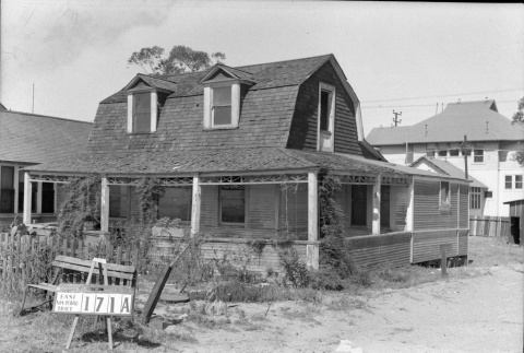 House labeled East San Pedro Track 171A (ddr-csujad-43-53)