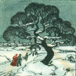 Christmas card from Emma Hesse to Mr. and Mrs. Henry [Katsumi] Fujita, December 21, 1941 (ddr-csujad-23-12)