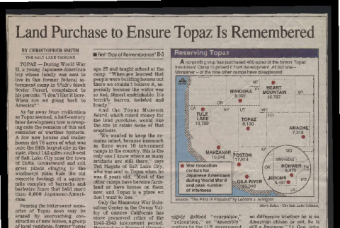 Land purchase to ensure Topaz is remembered (ddr-csujad-55-2501)