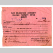 War Relocation Authority Evacuation Property Office receipt (ddr-csujad-5-193)
