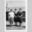 [Women in front of building] (ddr-csujad-56-270)